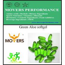 Green Aloe Softgel / Capsule de légumes / Sans conservateurs