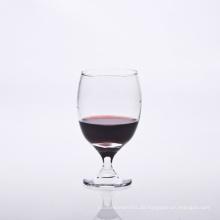 Mundgeblasenes Weinglas mit einer Kapazität von 14,5 Unzen
