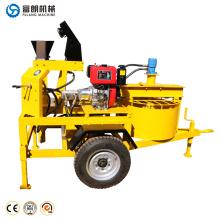 Высокая производительность хорошее качество блокируя стабилизированный блок почвы машина в Кении