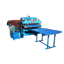 Wall Panel and Tile Double Layer Roll Forming Machine