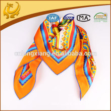 2015 style 100% silk turkish square scarf wholesale