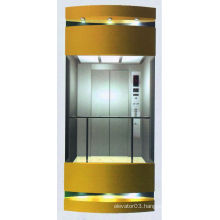 Round capsule lift with good elevator motor