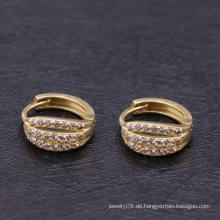Mode 18k Gold Farbe Huggies Ohrring Designs