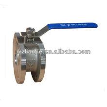 Нержавеющая сталь межфланцевый шаровой кран PN16