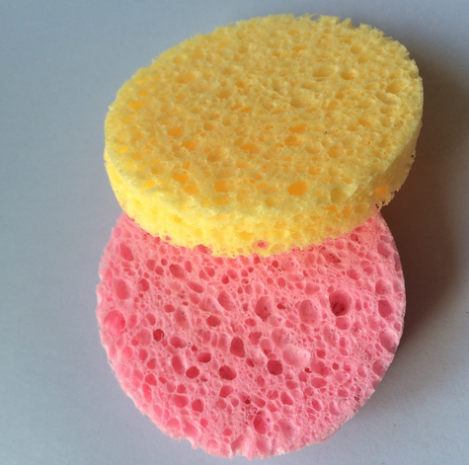 compressed facial sponge