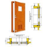 A60 Marine Fireproof Door