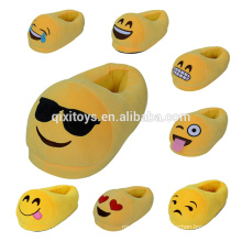 Hot Sale Funny Emoji Bedroom Slippers Wholesale