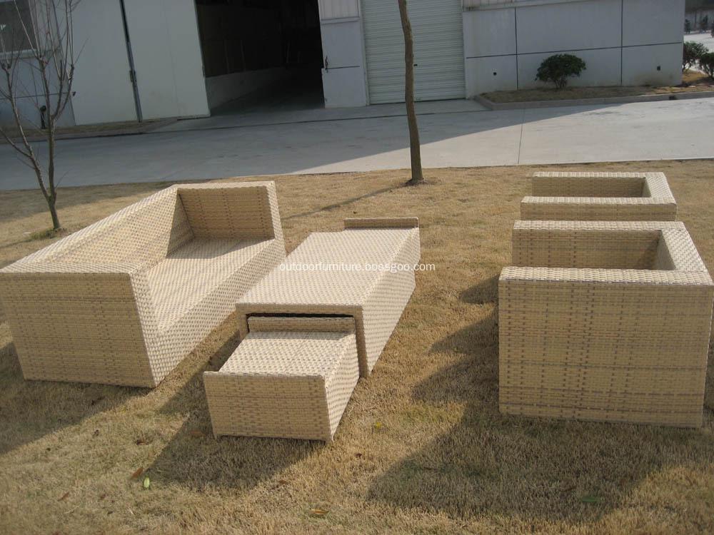 DLR1108-1 Garden Comfortable Classic Sofa Furniture Set