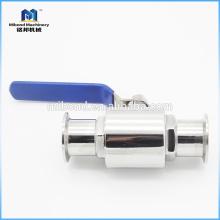 Válvula de bola modificada para requisitos particulares de fábrica de 2 maneras de la Tri-abrazadera 1.5 pulgadas