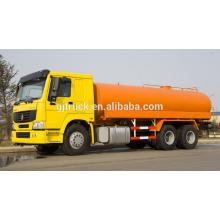 Carro de agua HOWO de Sinotruk / camión de riego / camión de transporte de agua / camión de pulverización de agua / camión de pulverización de agua de la calle / tanque de agua