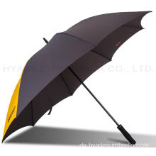 Big Size Winddicht Leichte Plain Golf Umbrella