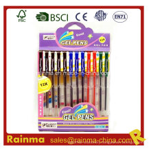 Gel Ink Pen in Nice Paper Box Packing
