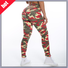 Wholesale Sxey Ladies Fitness Yoga Wear Camouflage Patterns Yoga Pants Leggings