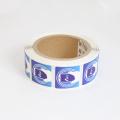 Waterproof PVC Printed RFID 13.56MHz  NFC Label/sticker/tag
