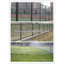 Chain link fence for football ground (10 years' factory)