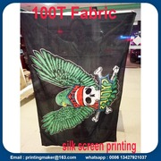 Vivid Color and UV Fade Resistant Polyester Fabric Flags