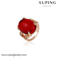 14582 xuping jewelry 18k gold plated fashion new gold ring designs finger ring for women
