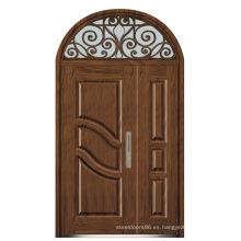 Puerta de acero blindada de Italia puerta del dormitorio proveedor de China (d4014)