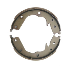 S858 China Manufacturers Auto Spare Part Car Brake Shoes box riveter lining material for Honda
