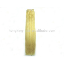 wholesale double drawn russian remy blonde human hair extensions