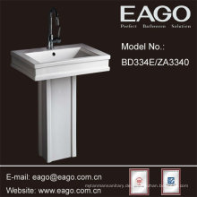 EAGO Ceramic Bathroom Pedestal Sinks/ Pedestal Basin