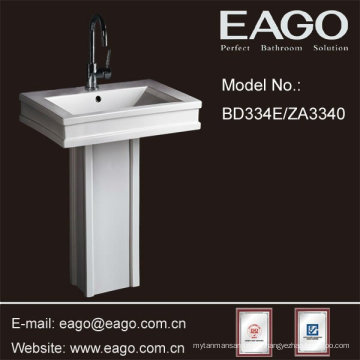 EAGO Ceramic Bathroom Pedestal Sinks/ Pedestal Basin