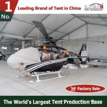 Großes benutztes wasserdichtes tragbares Flugzeug-Hangar-Zelt