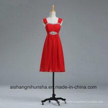 Sweetheart Beach Maid of Honor Dresses Chiffon Short Bridesmaid Dresses