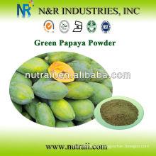 100% natural Green Papaya powder 60-200mesh
