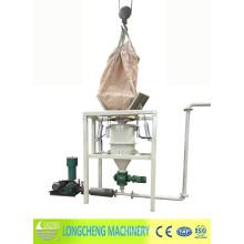 Máquina de descarga de polvo de la bolsa de la tonelada