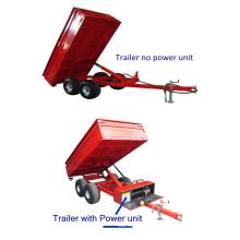 2TR4WM Rear Tipper Tractor Box Trailer with hydraulic power unit