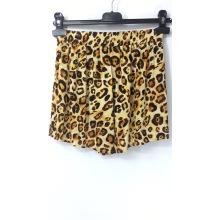 Shorts com estampa de leopardo para mulher