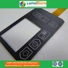 LGF Uniform Backlighting Technologie Taktile Membranschalter