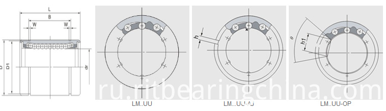 Motion Bearings Adjustable Type