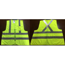 Traffic Reflective Vest with 1 Pocket, Factory in Ningbo, China