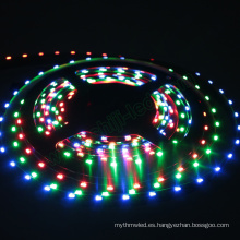 Nueva llegada popular 12 mm ancho 64LEDs / m sk6812 4020 de emisión lateral direccionable rgb digital led pixel flexible strips