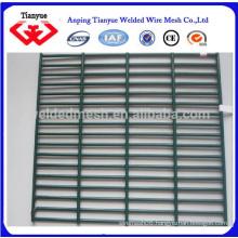 Dark Green PVC Coated 358 anti-climb fence