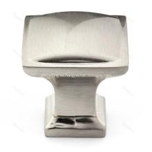 Perilla de hardware de gabinete cuadrado tradicional de aleación de zinc