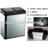 70L Waste Management Trash Container Touchless Matte Bin