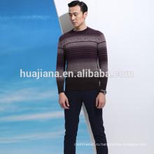 80% смеси кашемира crewneck свитер мужской