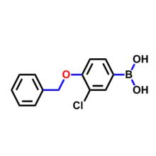 4-BENZYLOXY-3-CHLOROPHENYLBORONIC ACID CAS 845551-44-2