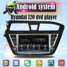 Multimédia pour voiture pour Hyundai I20 Android GPS DVD Player