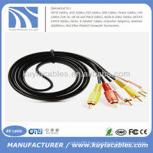 6FT 3RCA Cable AV Male Video Audio