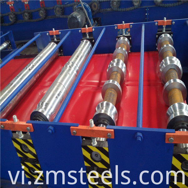 Galvanized Roofing Sheet Roll Forming Machine