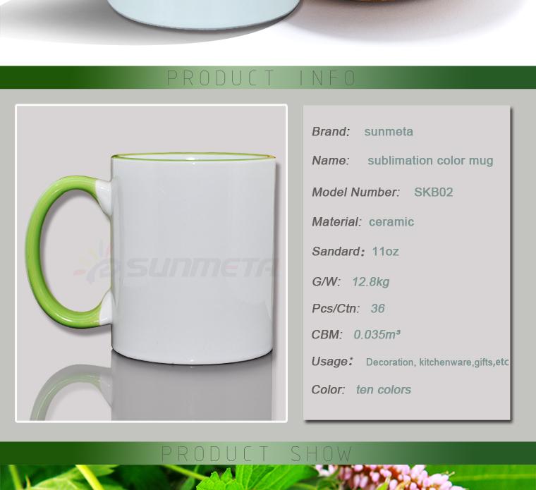 FREESUB Sublimation Heat Press Insulated Coffee Mugs