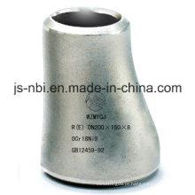 Tubulação e encaixe excêntricos de aço inoxidável