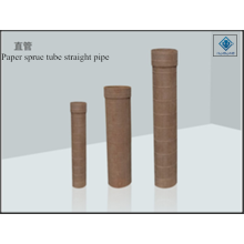 Paper pipe sprue tube straight
