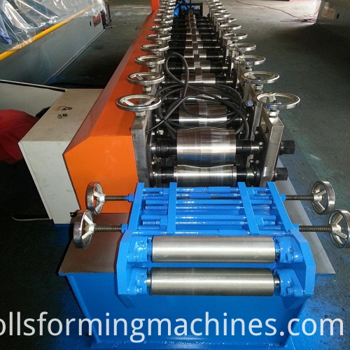 Rolling Shutter Door Making Machine