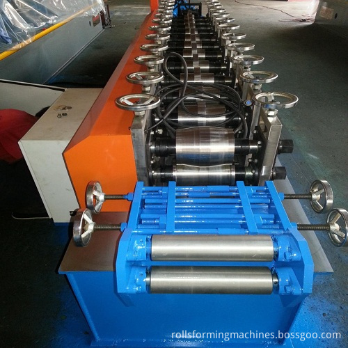 Shutter Slat Roll Forming Machine