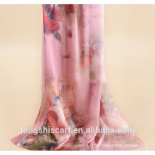 Damenmode digital bedruckt langen Schal Schal
